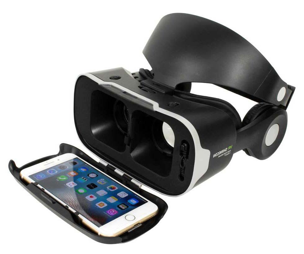 モバイル型スマホ用VRゴーグル