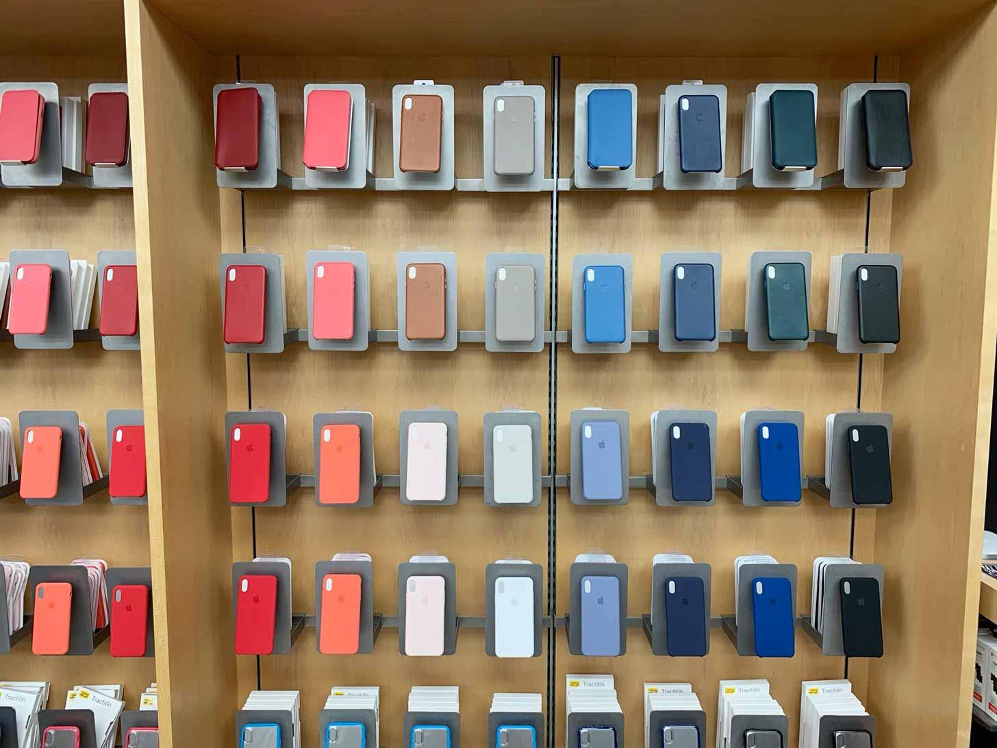 apple店舗ではすべてのケースを試着可能