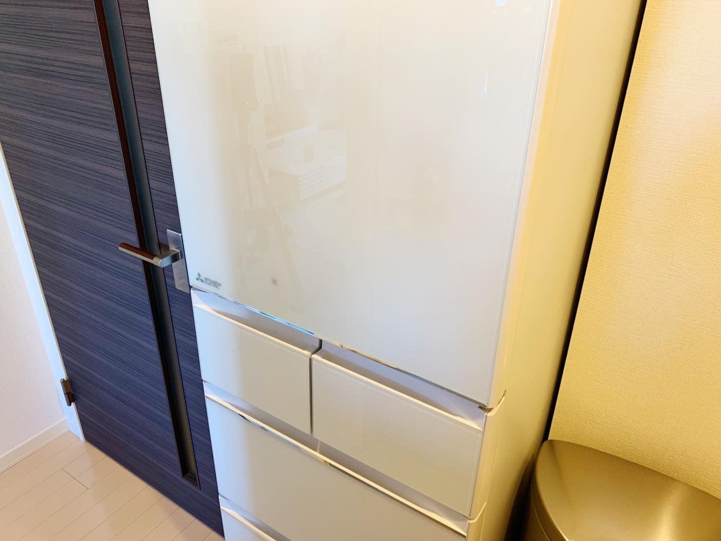 三菱 置けるスマート大容量冷蔵庫